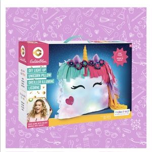 Make it Real Goldie Blox DIY Glow Unicorn Pillow